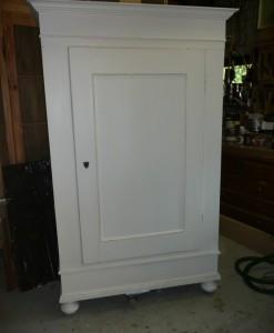 1 deurs grenen kast uitneembaar evt met schappen-1