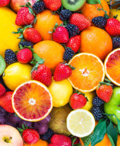 Fruit / Fruites / geel