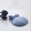 Dusty Blue paint drop 600x600px