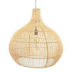 Lamp rotan naturel Max S