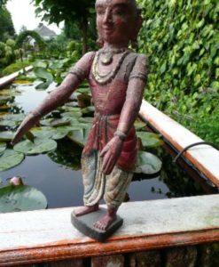 Oud houten beeld uit India.-2