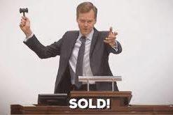 Verkochte meubelen/artikelen