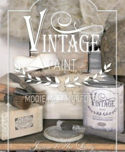 vintage paint boek